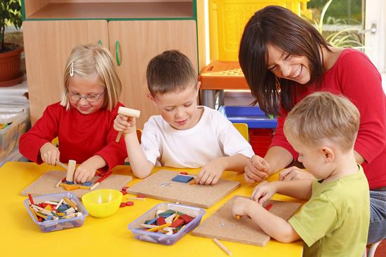 Готовим ребенка в детский сад