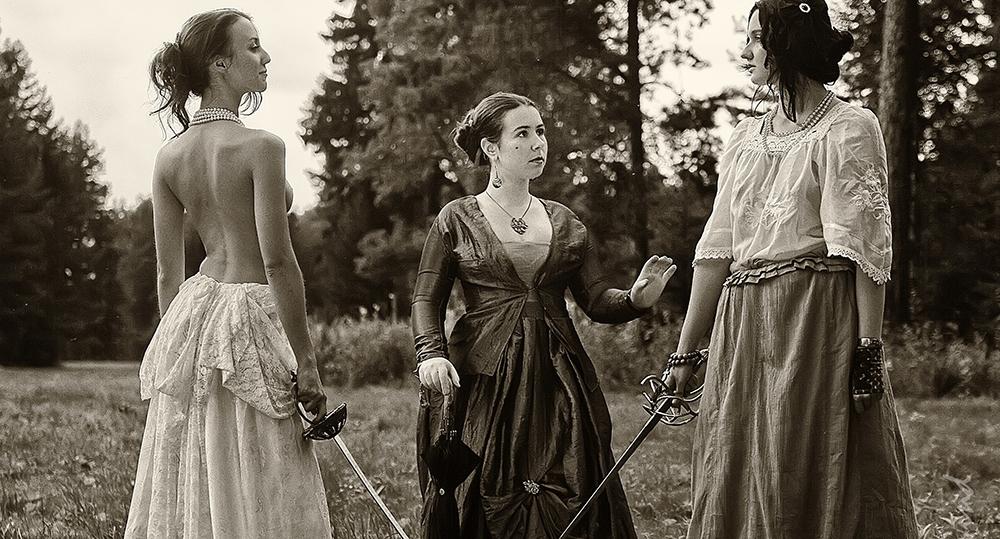 Дуэли с участием женщин