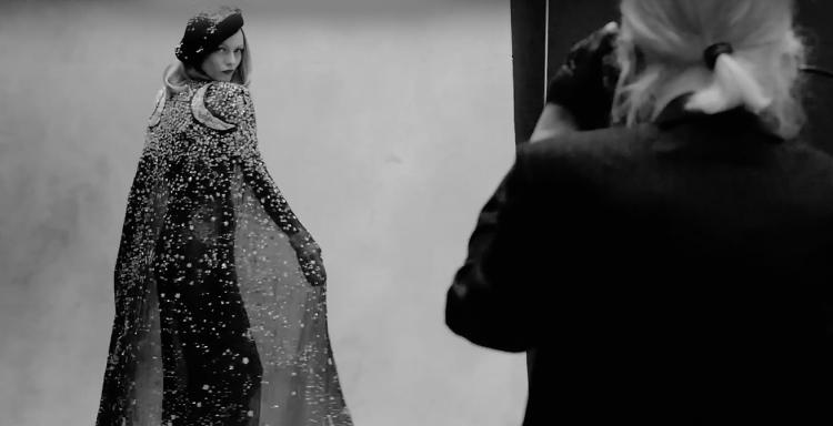 Для «Библии моды» Карла Лагерфельда снялась Ванесса Паради