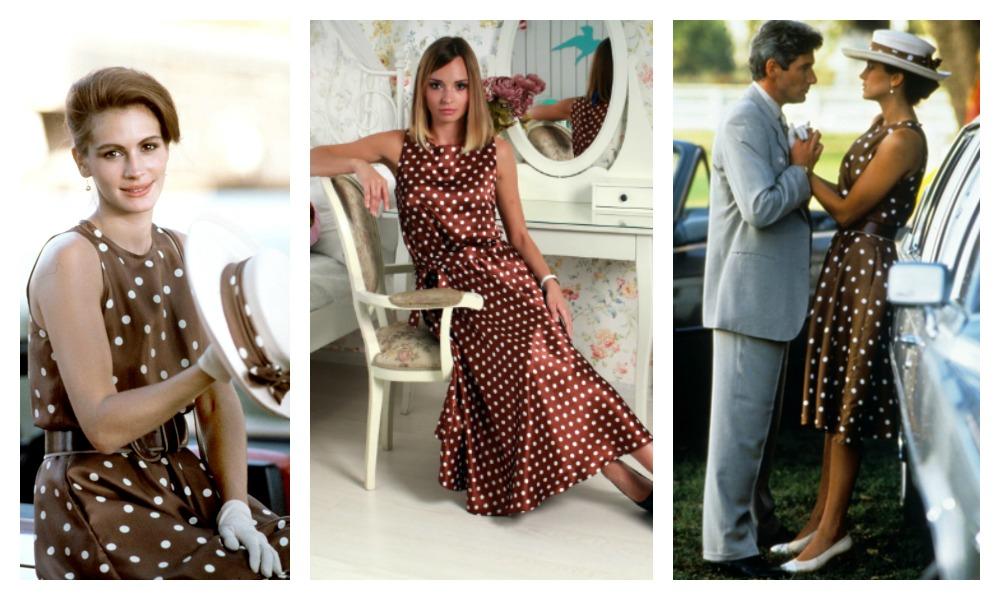 Платье в горошек: какое купить, как выбрать