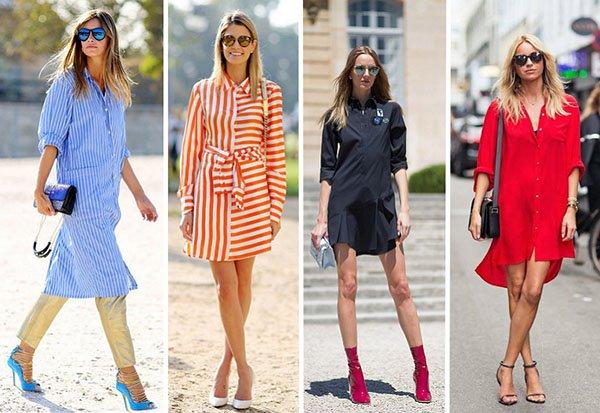 Как правильно носить платье