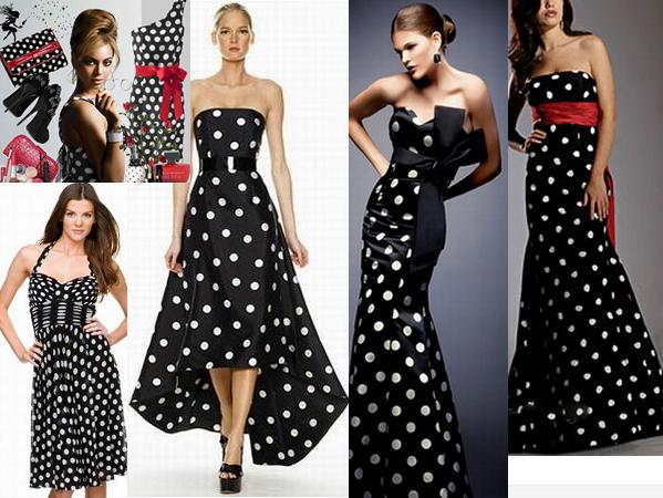 5bb1e5b95eb6e5 Платье в горошек: какое купить, как выбрать