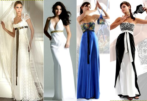Платье в стиле ампир – воплощенная женственность